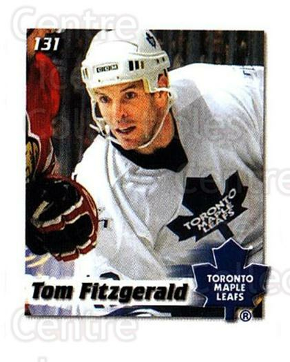 2002-03 NHL Power Play Stickers #131 Tom Fitzgerald<br/>7 In Stock - $2.00 each - <a href=https://centericecollectibles.foxycart.com/cart?name=2002-03%20NHL%20Power%20Play%20Stickers%20%23131%20Tom%20Fitzgerald...&quantity_max=7&price=$2.00&code=103541 class=foxycart> Buy it now! </a>