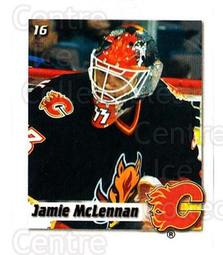 2002-03 NHL Power Play Stickers #16 Jamie McLennan<br/>7 In Stock - $2.00 each - <a href=https://centericecollectibles.foxycart.com/cart?name=2002-03%20NHL%20Power%20Play%20Stickers%20%2316%20Jamie%20McLennan...&quantity_max=7&price=$2.00&code=103566 class=foxycart> Buy it now! </a>