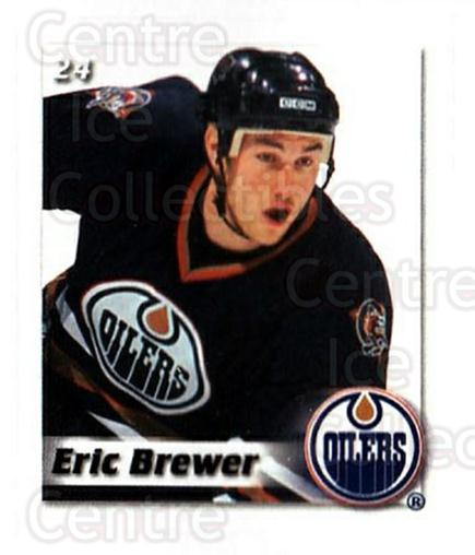 2002-03 NHL Power Play Stickers #24 Eric Brewer<br/>5 In Stock - $2.00 each - <a href=https://centericecollectibles.foxycart.com/cart?name=2002-03%20NHL%20Power%20Play%20Stickers%20%2324%20Eric%20Brewer...&quantity_max=5&price=$2.00&code=103581 class=foxycart> Buy it now! </a>