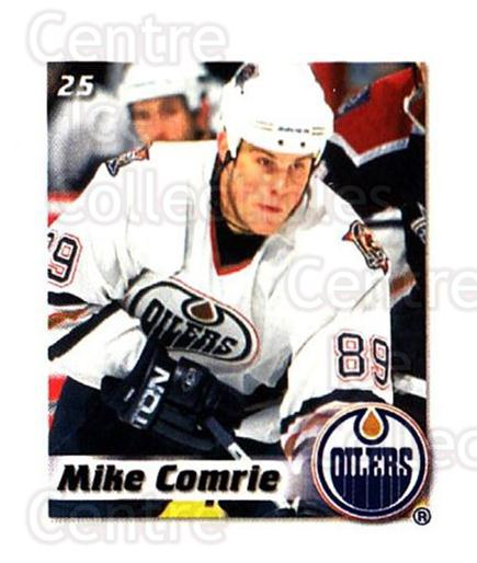 2002-03 NHL Power Play Stickers #25 Mike Comrie<br/>5 In Stock - $2.00 each - <a href=https://centericecollectibles.foxycart.com/cart?name=2002-03%20NHL%20Power%20Play%20Stickers%20%2325%20Mike%20Comrie...&quantity_max=5&price=$2.00&code=103582 class=foxycart> Buy it now! </a>