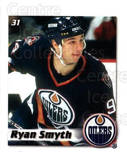 2002-03 NHL Power Play Stickers #31 Ryan Smyth<br/>5 In Stock - $2.00 each - <a href=https://centericecollectibles.foxycart.com/cart?name=2002-03%20NHL%20Power%20Play%20Stickers%20%2331%20Ryan%20Smyth...&quantity_max=5&price=$2.00&code=103585 class=foxycart> Buy it now! </a>