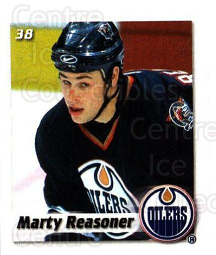 2002-03 NHL Power Play Stickers #38 Marty Reasoner<br/>3 In Stock - $2.00 each - <a href=https://centericecollectibles.foxycart.com/cart?name=2002-03%20NHL%20Power%20Play%20Stickers%20%2338%20Marty%20Reasoner...&quantity_max=3&price=$2.00&code=103590 class=foxycart> Buy it now! </a>