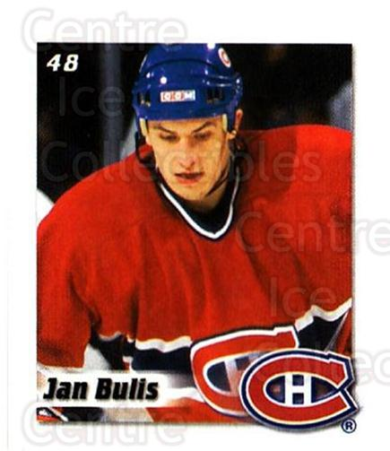 2002-03 NHL Power Play Stickers #48 Jan Bulis<br/>6 In Stock - $2.00 each - <a href=https://centericecollectibles.foxycart.com/cart?name=2002-03%20NHL%20Power%20Play%20Stickers%20%2348%20Jan%20Bulis...&quantity_max=6&price=$2.00&code=103600 class=foxycart> Buy it now! </a>