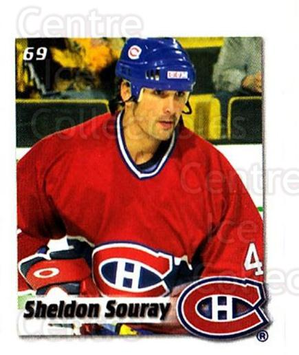 2002-03 NHL Power Play Stickers #69 Sheldon Souray<br/>7 In Stock - $2.00 each - <a href=https://centericecollectibles.foxycart.com/cart?name=2002-03%20NHL%20Power%20Play%20Stickers%20%2369%20Sheldon%20Souray...&quantity_max=7&price=$2.00&code=103621 class=foxycart> Buy it now! </a>