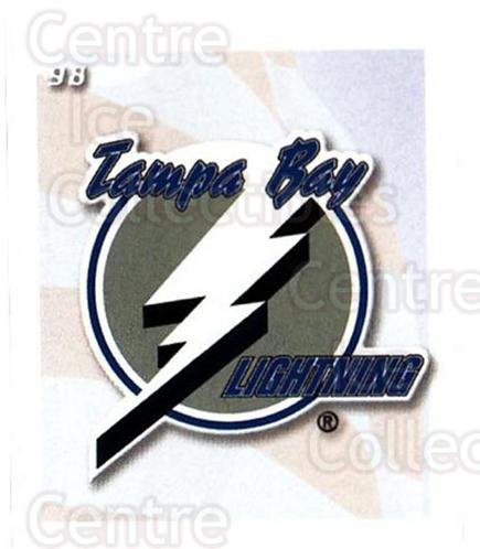 2002-03 NHL Power Play Stickers #98 Tampa Bay Lightning<br/>7 In Stock - $2.00 each - <a href=https://centericecollectibles.foxycart.com/cart?name=2002-03%20NHL%20Power%20Play%20Stickers%20%2398%20Tampa%20Bay%20Light...&quantity_max=7&price=$2.00&code=103652 class=foxycart> Buy it now! </a>