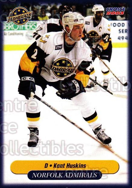 2002-03 Norfolk Admirals #12 Kent Huskins<br/>5 In Stock - $3.00 each - <a href=https://centericecollectibles.foxycart.com/cart?name=2002-03%20Norfolk%20Admirals%20%2312%20Kent%20Huskins...&quantity_max=5&price=$3.00&code=103657 class=foxycart> Buy it now! </a>