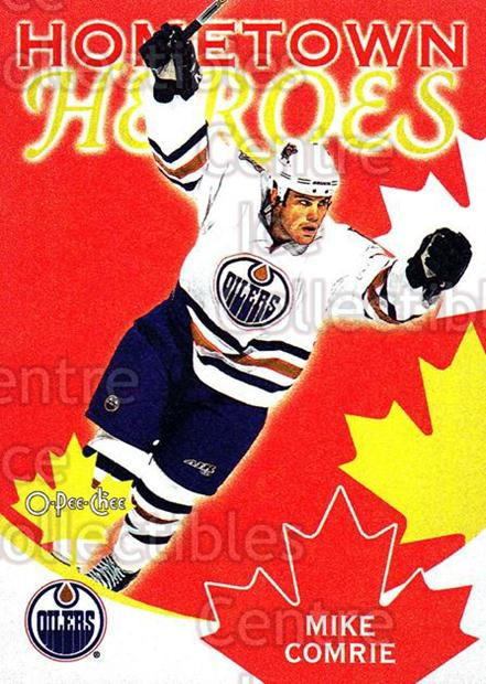 2002-03 O-Pee-Chee Hometown Heroes Factory #13 Mike Comrie<br/>3 In Stock - $2.00 each - <a href=https://centericecollectibles.foxycart.com/cart?name=2002-03%20O-Pee-Chee%20Hometown%20Heroes%20Factory%20%2313%20Mike%20Comrie...&quantity_max=3&price=$2.00&code=103679 class=foxycart> Buy it now! </a>