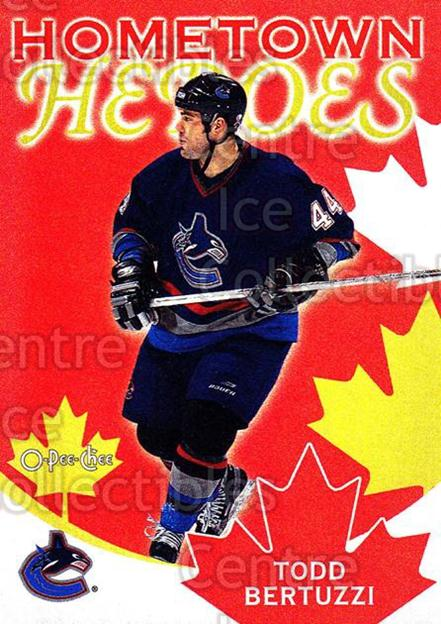 2002-03 O-Pee-Chee Hometown Heroes Factory #6 Todd Bertuzzi<br/>3 In Stock - $2.00 each - <a href=https://centericecollectibles.foxycart.com/cart?name=2002-03%20O-Pee-Chee%20Hometown%20Heroes%20Factory%20%236%20Todd%20Bertuzzi...&quantity_max=3&price=$2.00&code=103690 class=foxycart> Buy it now! </a>