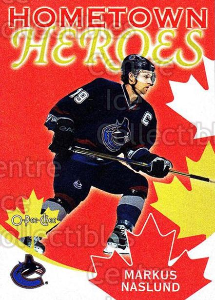 2002-03 O-Pee-Chee Hometown Heroes Factory #7 Markus Naslund<br/>5 In Stock - $2.00 each - <a href=https://centericecollectibles.foxycart.com/cart?name=2002-03%20O-Pee-Chee%20Hometown%20Heroes%20Factory%20%237%20Markus%20Naslund...&quantity_max=5&price=$2.00&code=103691 class=foxycart> Buy it now! </a>