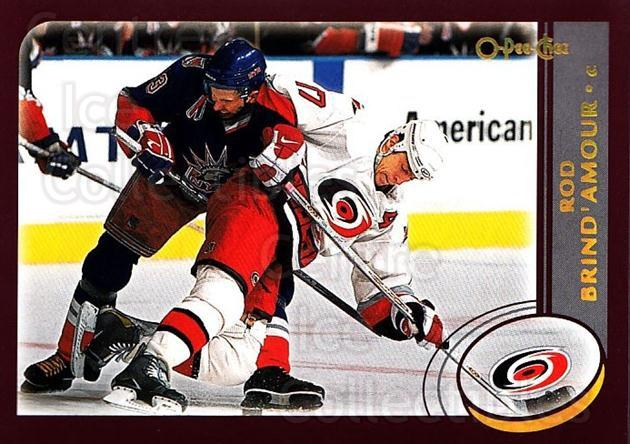 2002-03 O-Pee-Chee Factory #130 Rod Brind'Amour<br/>6 In Stock - $1.00 each - <a href=https://centericecollectibles.foxycart.com/cart?name=2002-03%20O-Pee-Chee%20Factory%20%23130%20Rod%20Brind'Amour...&quantity_max=6&price=$1.00&code=103726 class=foxycart> Buy it now! </a>