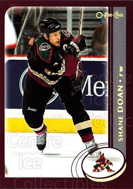 2002-03 O-Pee-Chee Factory #131 Shane Doan<br/>6 In Stock - $1.00 each - <a href=https://centericecollectibles.foxycart.com/cart?name=2002-03%20O-Pee-Chee%20Factory%20%23131%20Shane%20Doan...&quantity_max=6&price=$1.00&code=103727 class=foxycart> Buy it now! </a>