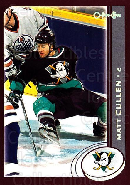 2002-03 O-Pee-Chee Factory #139 Matt Cullen<br/>7 In Stock - $1.00 each - <a href=https://centericecollectibles.foxycart.com/cart?name=2002-03%20O-Pee-Chee%20Factory%20%23139%20Matt%20Cullen...&quantity_max=7&price=$1.00&code=103735 class=foxycart> Buy it now! </a>