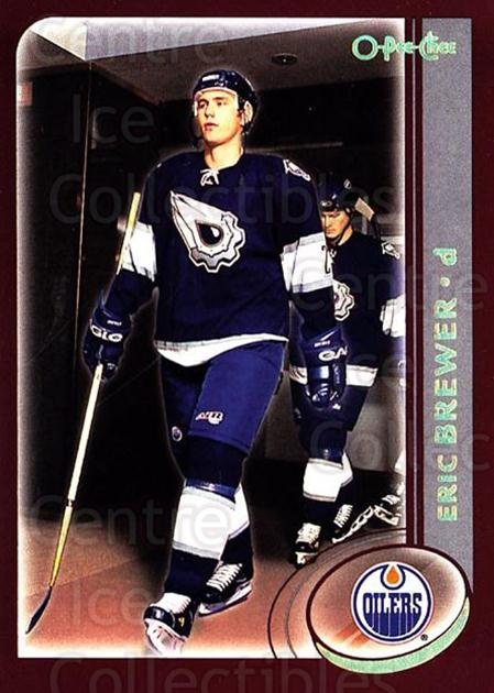 2002-03 O-Pee-Chee Factory #150 Eric Brewer<br/>7 In Stock - $1.00 each - <a href=https://centericecollectibles.foxycart.com/cart?name=2002-03%20O-Pee-Chee%20Factory%20%23150%20Eric%20Brewer...&quantity_max=7&price=$1.00&code=103748 class=foxycart> Buy it now! </a>