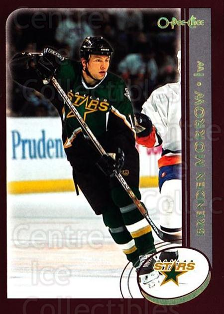2002-03 O-Pee-Chee Factory #152 Brenden Morrow<br/>6 In Stock - $1.00 each - <a href=https://centericecollectibles.foxycart.com/cart?name=2002-03%20O-Pee-Chee%20Factory%20%23152%20Brenden%20Morrow...&quantity_max=6&price=$1.00&code=103750 class=foxycart> Buy it now! </a>