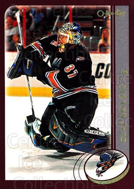 2002-03 O-Pee-Chee Factory #156 Olaf Kolzig<br/>7 In Stock - $1.00 each - <a href=https://centericecollectibles.foxycart.com/cart?name=2002-03%20O-Pee-Chee%20Factory%20%23156%20Olaf%20Kolzig...&quantity_max=7&price=$1.00&code=103754 class=foxycart> Buy it now! </a>