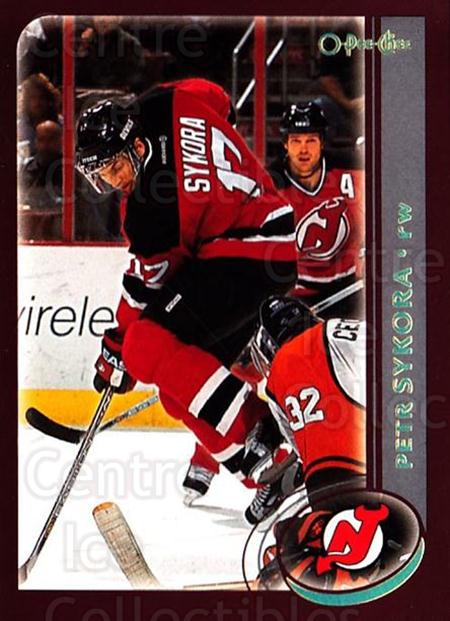 2002-03 O-Pee-Chee Factory #164 Petr Sykora<br/>6 In Stock - $1.00 each - <a href=https://centericecollectibles.foxycart.com/cart?name=2002-03%20O-Pee-Chee%20Factory%20%23164%20Petr%20Sykora...&quantity_max=6&price=$1.00&code=103763 class=foxycart> Buy it now! </a>