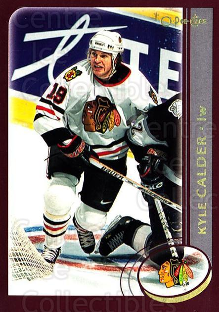 2002-03 O-Pee-Chee Factory #169 Kyle Calder<br/>7 In Stock - $1.00 each - <a href=https://centericecollectibles.foxycart.com/cart?name=2002-03%20O-Pee-Chee%20Factory%20%23169%20Kyle%20Calder...&quantity_max=7&price=$1.00&code=103767 class=foxycart> Buy it now! </a>
