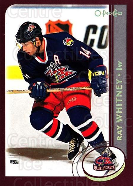 2002-03 O-Pee-Chee Factory #191 Ray Whitney<br/>6 In Stock - $1.00 each - <a href=https://centericecollectibles.foxycart.com/cart?name=2002-03%20O-Pee-Chee%20Factory%20%23191%20Ray%20Whitney...&quantity_max=6&price=$1.00&code=103791 class=foxycart> Buy it now! </a>