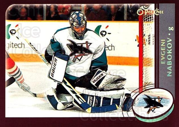 2002-03 O-Pee-Chee Factory #234 Evgeni Nabokov<br/>7 In Stock - $1.00 each - <a href=https://centericecollectibles.foxycart.com/cart?name=2002-03%20O-Pee-Chee%20Factory%20%23234%20Evgeni%20Nabokov...&quantity_max=7&price=$1.00&code=103838 class=foxycart> Buy it now! </a>