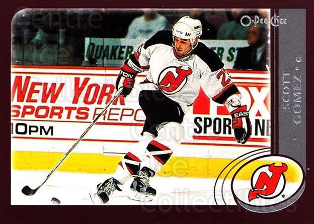 2002-03 O-Pee-Chee #112 Scott Gomez<br/>6 In Stock - $1.00 each - <a href=https://centericecollectibles.foxycart.com/cart?name=2002-03%20O-Pee-Chee%20%23112%20Scott%20Gomez...&quantity_max=6&price=$1.00&code=103859 class=foxycart> Buy it now! </a>