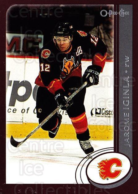 2002-03 O-Pee-Chee #12 Jarome Iginla<br/>3 In Stock - $1.00 each - <a href=https://centericecollectibles.foxycart.com/cart?name=2002-03%20O-Pee-Chee%20%2312%20Jarome%20Iginla...&quantity_max=3&price=$1.00&code=103867 class=foxycart> Buy it now! </a>