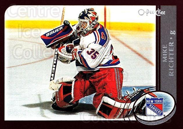 2002-03 O-Pee-Chee #128 Mike Richter<br/>3 In Stock - $1.00 each - <a href=https://centericecollectibles.foxycart.com/cart?name=2002-03%20O-Pee-Chee%20%23128%20Mike%20Richter...&quantity_max=3&price=$1.00&code=103875 class=foxycart> Buy it now! </a>