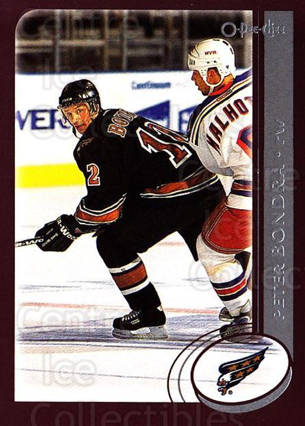 2002-03 O-Pee-Chee #129 Peter Bondra<br/>5 In Stock - $1.00 each - <a href=https://centericecollectibles.foxycart.com/cart?name=2002-03%20O-Pee-Chee%20%23129%20Peter%20Bondra...&quantity_max=5&price=$1.00&code=103876 class=foxycart> Buy it now! </a>