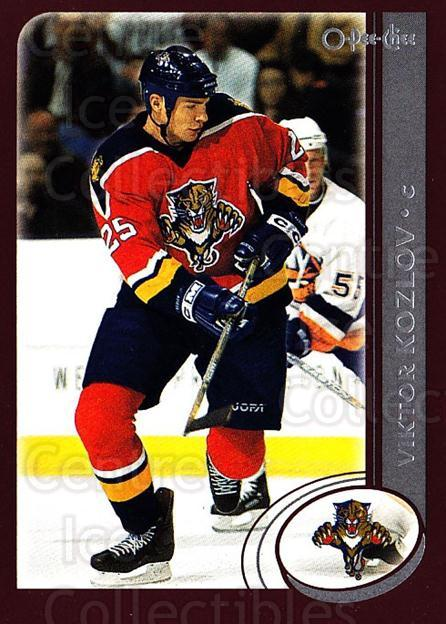 2002-03 O-Pee-Chee #132 Viktor Kozlov<br/>5 In Stock - $1.00 each - <a href=https://centericecollectibles.foxycart.com/cart?name=2002-03%20O-Pee-Chee%20%23132%20Viktor%20Kozlov...&quantity_max=5&price=$1.00&code=103880 class=foxycart> Buy it now! </a>