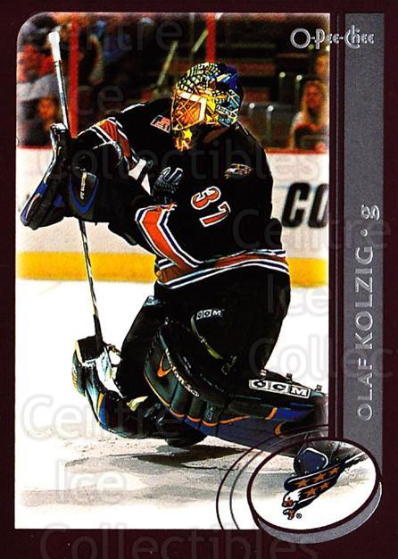 2002-03 O-Pee-Chee #156 Olaf Kolzig<br/>5 In Stock - $1.00 each - <a href=https://centericecollectibles.foxycart.com/cart?name=2002-03%20O-Pee-Chee%20%23156%20Olaf%20Kolzig...&quantity_max=5&price=$1.00&code=103903 class=foxycart> Buy it now! </a>