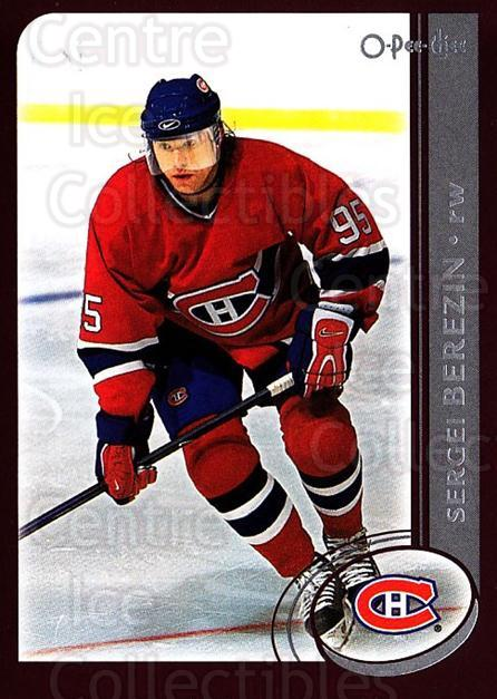 2002-03 O-Pee-Chee #157 Sergei Berezin<br/>6 In Stock - $1.00 each - <a href=https://centericecollectibles.foxycart.com/cart?name=2002-03%20O-Pee-Chee%20%23157%20Sergei%20Berezin...&quantity_max=6&price=$1.00&code=103904 class=foxycart> Buy it now! </a>