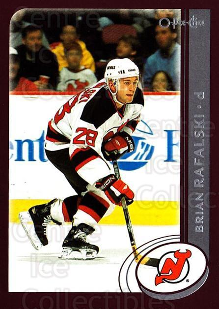 2002-03 O-Pee-Chee #160 Brian Rafalski<br/>5 In Stock - $1.00 each - <a href=https://centericecollectibles.foxycart.com/cart?name=2002-03%20O-Pee-Chee%20%23160%20Brian%20Rafalski...&quantity_max=5&price=$1.00&code=103908 class=foxycart> Buy it now! </a>