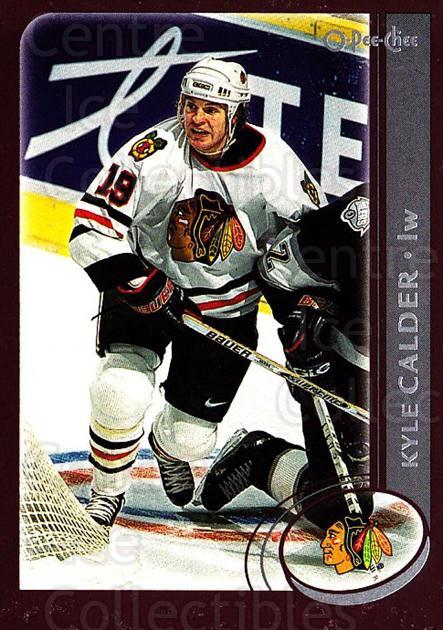 2002-03 O-Pee-Chee #169 Kyle Calder<br/>4 In Stock - $1.00 each - <a href=https://centericecollectibles.foxycart.com/cart?name=2002-03%20O-Pee-Chee%20%23169%20Kyle%20Calder...&quantity_max=4&price=$1.00&code=103918 class=foxycart> Buy it now! </a>