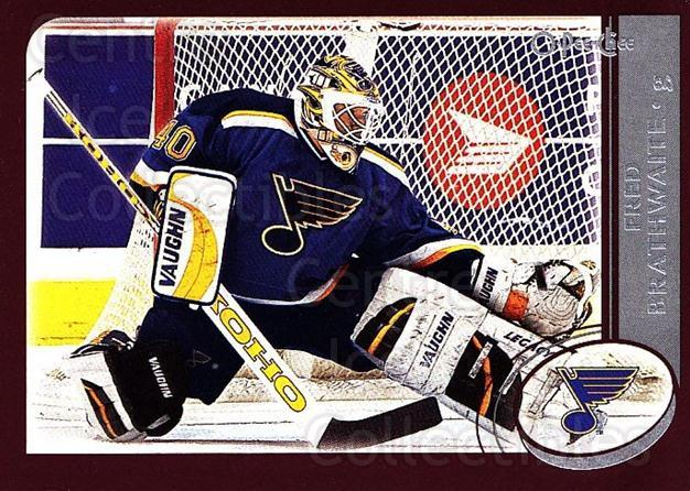 2002-03 O-Pee-Chee #197 Fred Brathwaite<br/>3 In Stock - $1.00 each - <a href=https://centericecollectibles.foxycart.com/cart?name=2002-03%20O-Pee-Chee%20%23197%20Fred%20Brathwaite...&quantity_max=3&price=$1.00&code=103949 class=foxycart> Buy it now! </a>