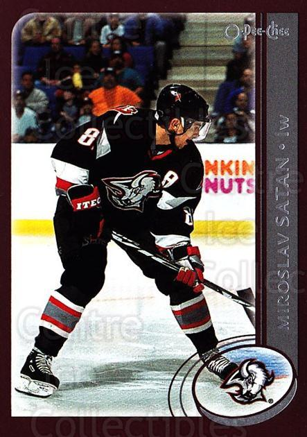 2002-03 O-Pee-Chee #20 Miroslav Satan<br/>6 In Stock - $1.00 each - <a href=https://centericecollectibles.foxycart.com/cart?name=2002-03%20O-Pee-Chee%20%2320%20Miroslav%20Satan...&quantity_max=6&price=$1.00&code=103952 class=foxycart> Buy it now! </a>