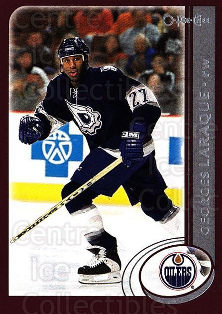 2002-03 O-Pee-Chee #200 Georges Laraque<br/>4 In Stock - $1.00 each - <a href=https://centericecollectibles.foxycart.com/cart?name=2002-03%20O-Pee-Chee%20%23200%20Georges%20Laraque...&quantity_max=4&price=$1.00&code=103953 class=foxycart> Buy it now! </a>