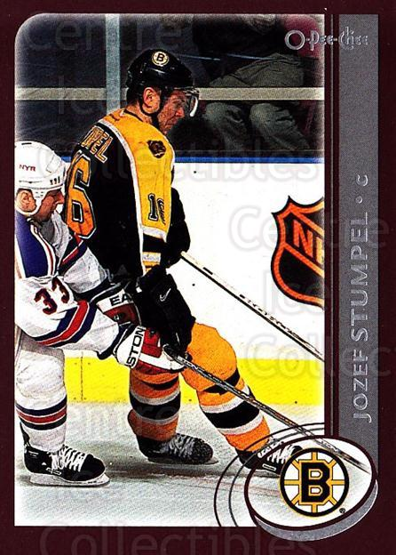 2002-03 O-Pee-Chee #201 Jozef Stumpel<br/>6 In Stock - $1.00 each - <a href=https://centericecollectibles.foxycart.com/cart?name=2002-03%20O-Pee-Chee%20%23201%20Jozef%20Stumpel...&quantity_max=6&price=$1.00&code=103954 class=foxycart> Buy it now! </a>
