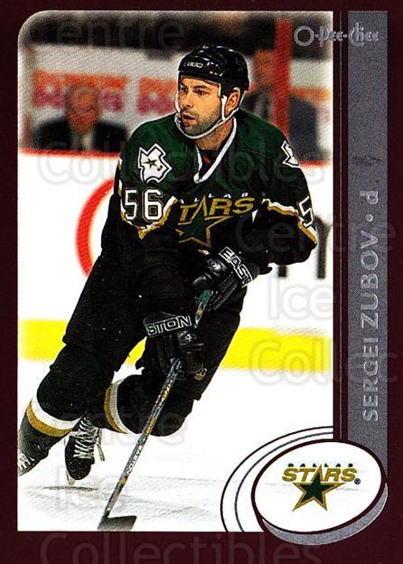 2002-03 O-Pee-Chee #225 Sergei Zubov<br/>5 In Stock - $1.00 each - <a href=https://centericecollectibles.foxycart.com/cart?name=2002-03%20O-Pee-Chee%20%23225%20Sergei%20Zubov...&quantity_max=5&price=$1.00&code=103980 class=foxycart> Buy it now! </a>
