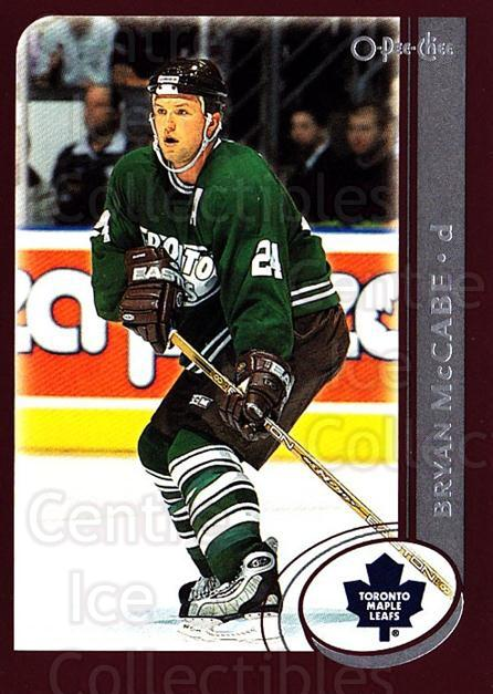 2002-03 O-Pee-Chee #226 Bryan McCabe<br/>6 In Stock - $1.00 each - <a href=https://centericecollectibles.foxycart.com/cart?name=2002-03%20O-Pee-Chee%20%23226%20Bryan%20McCabe...&quantity_max=6&price=$1.00&code=103981 class=foxycart> Buy it now! </a>