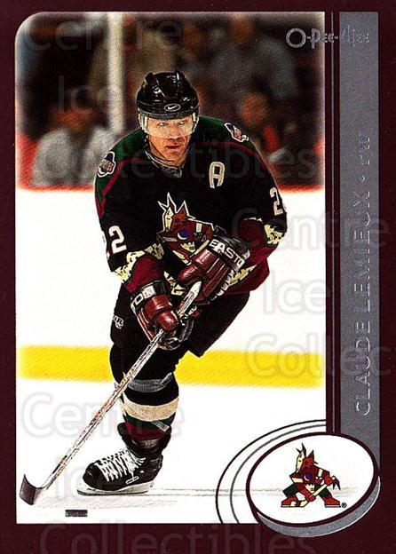 2002-03 O-Pee-Chee #227 Claude Lemieux<br/>6 In Stock - $1.00 each - <a href=https://centericecollectibles.foxycart.com/cart?name=2002-03%20O-Pee-Chee%20%23227%20Claude%20Lemieux...&quantity_max=6&price=$1.00&code=103982 class=foxycart> Buy it now! </a>