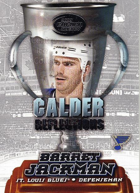 2002-03 Pacific Calder Reflections #19 Barret Jackman<br/>5 In Stock - $2.00 each - <a href=https://centericecollectibles.foxycart.com/cart?name=2002-03%20Pacific%20Calder%20Reflections%20%2319%20Barret%20Jackman...&quantity_max=5&price=$2.00&code=104065 class=foxycart> Buy it now! </a>