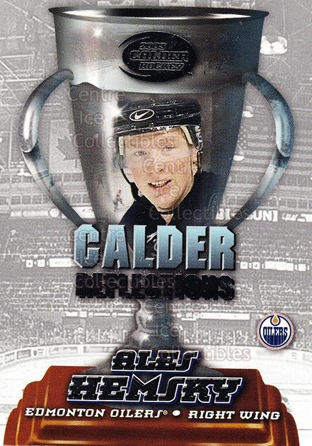 2002-03 Pacific Calder Reflections #10 Ales Hemsky<br/>8 In Stock - $2.00 each - <a href=https://centericecollectibles.foxycart.com/cart?name=2002-03%20Pacific%20Calder%20Reflections%20%2310%20Ales%20Hemsky...&quantity_max=8&price=$2.00&code=104195 class=foxycart> Buy it now! </a>
