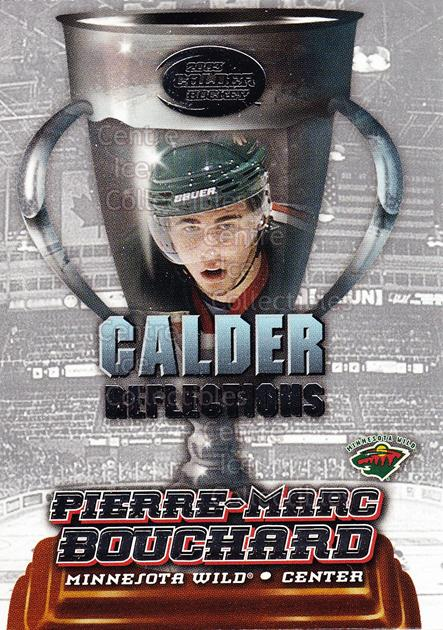 2002-03 Pacific Calder Reflections #15 Pierre-Marc Bouchard<br/>8 In Stock - $2.00 each - <a href=https://centericecollectibles.foxycart.com/cart?name=2002-03%20Pacific%20Calder%20Reflections%20%2315%20Pierre-Marc%20Bou...&quantity_max=8&price=$2.00&code=104200 class=foxycart> Buy it now! </a>