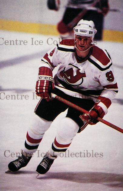 1985-86 New Jersey Devils Postcards #7 Kirk Muller<br/>5 In Stock - $3.00 each - <a href=https://centericecollectibles.foxycart.com/cart?name=1985-86%20New%20Jersey%20Devils%20Postcards%20%237%20Kirk%20Muller...&quantity_max=5&price=$3.00&code=104 class=foxycart> Buy it now! </a>