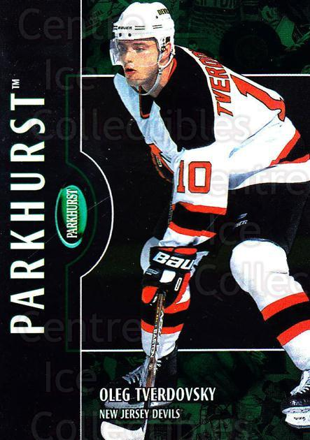 2002-03 Parkhurst #156 Oleg Tverdovsky<br/>5 In Stock - $1.00 each - <a href=https://centericecollectibles.foxycart.com/cart?name=2002-03%20Parkhurst%20%23156%20Oleg%20Tverdovsky...&quantity_max=5&price=$1.00&code=105363 class=foxycart> Buy it now! </a>