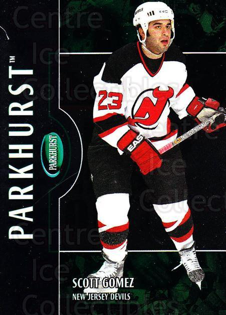 2002-03 Parkhurst #84 Scott Gomez<br/>3 In Stock - $1.00 each - <a href=https://centericecollectibles.foxycart.com/cart?name=2002-03%20Parkhurst%20%2384%20Scott%20Gomez...&quantity_max=3&price=$1.00&code=105366 class=foxycart> Buy it now! </a>
