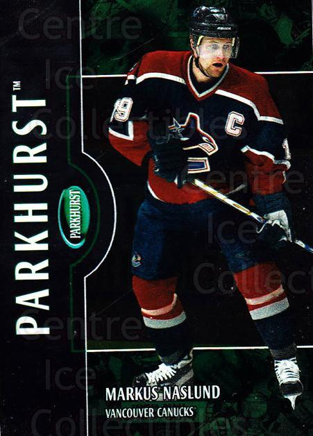 2002-03 Parkhurst #103 Markus Naslund<br/>6 In Stock - $1.00 each - <a href=https://centericecollectibles.foxycart.com/cart?name=2002-03%20Parkhurst%20%23103%20Markus%20Naslund...&quantity_max=6&price=$1.00&code=105731 class=foxycart> Buy it now! </a>