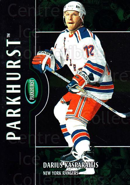 2002-03 Parkhurst #105 Darius Kasparaitis<br/>4 In Stock - $1.00 each - <a href=https://centericecollectibles.foxycart.com/cart?name=2002-03%20Parkhurst%20%23105%20Darius%20Kasparai...&quantity_max=4&price=$1.00&code=105733 class=foxycart> Buy it now! </a>