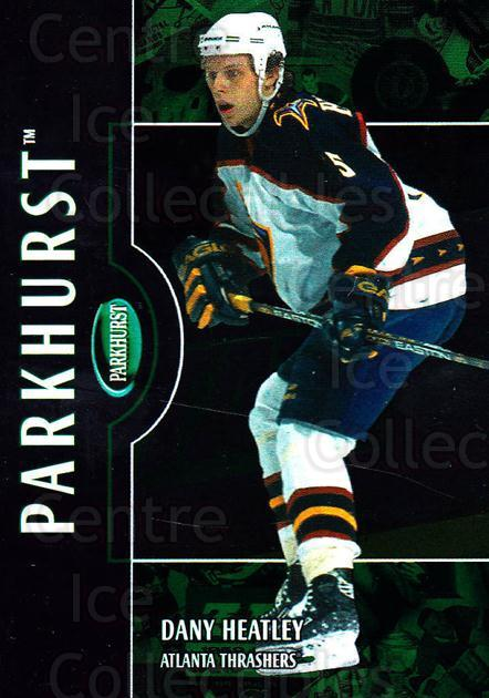 2002-03 Parkhurst #125 Dany Heatley<br/>7 In Stock - $1.00 each - <a href=https://centericecollectibles.foxycart.com/cart?name=2002-03%20Parkhurst%20%23125%20Dany%20Heatley...&quantity_max=7&price=$1.00&code=105753 class=foxycart> Buy it now! </a>