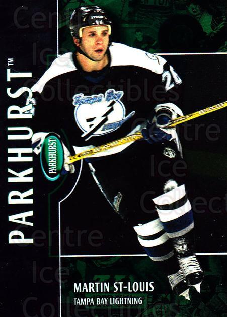2002-03 Parkhurst #134 Martin St. Louis<br/>4 In Stock - $1.00 each - <a href=https://centericecollectibles.foxycart.com/cart?name=2002-03%20Parkhurst%20%23134%20Martin%20St.%20Loui...&quantity_max=4&price=$1.00&code=105762 class=foxycart> Buy it now! </a>