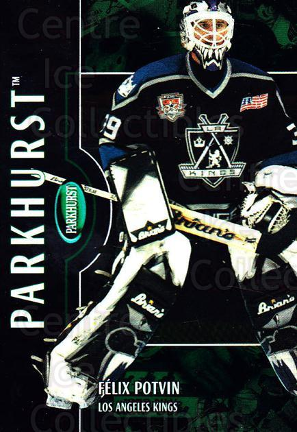 2002-03 Parkhurst #137 Felix Potvin<br/>3 In Stock - $1.00 each - <a href=https://centericecollectibles.foxycart.com/cart?name=2002-03%20Parkhurst%20%23137%20Felix%20Potvin...&quantity_max=3&price=$1.00&code=105765 class=foxycart> Buy it now! </a>